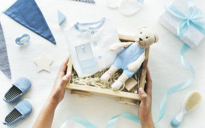 Un coffret cadeau pour une naissance