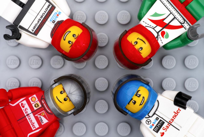 Lego pilote