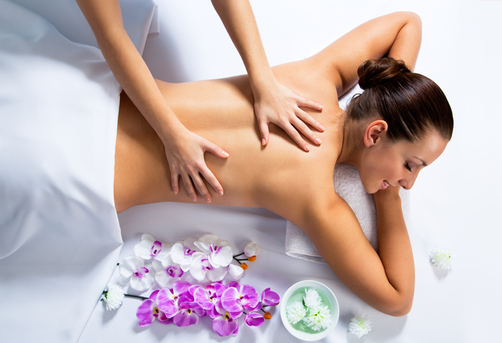 Un massage pour une pause détente