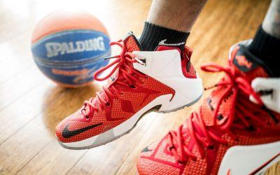 Des chaussures de basket-ball pour son homme ?
